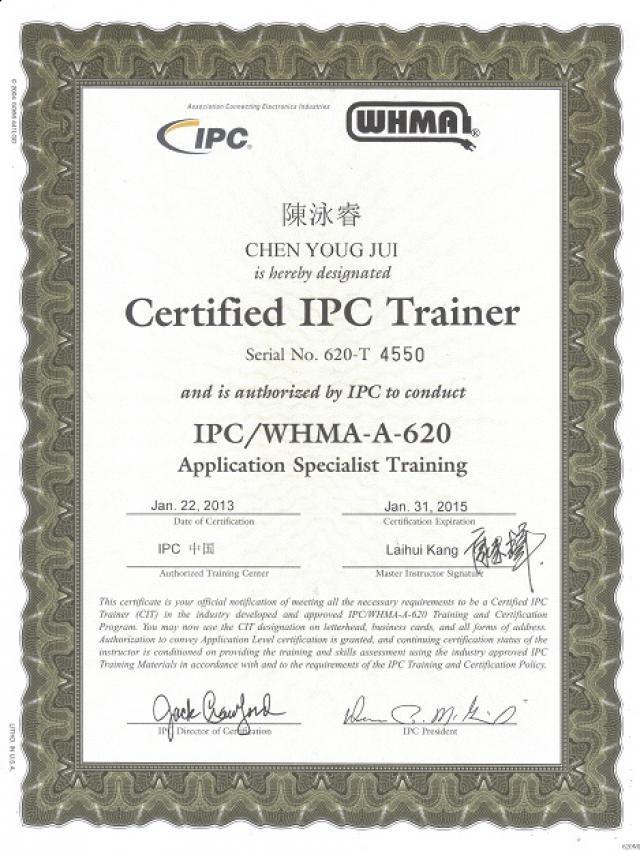 Quality Assurance Certification Jtep